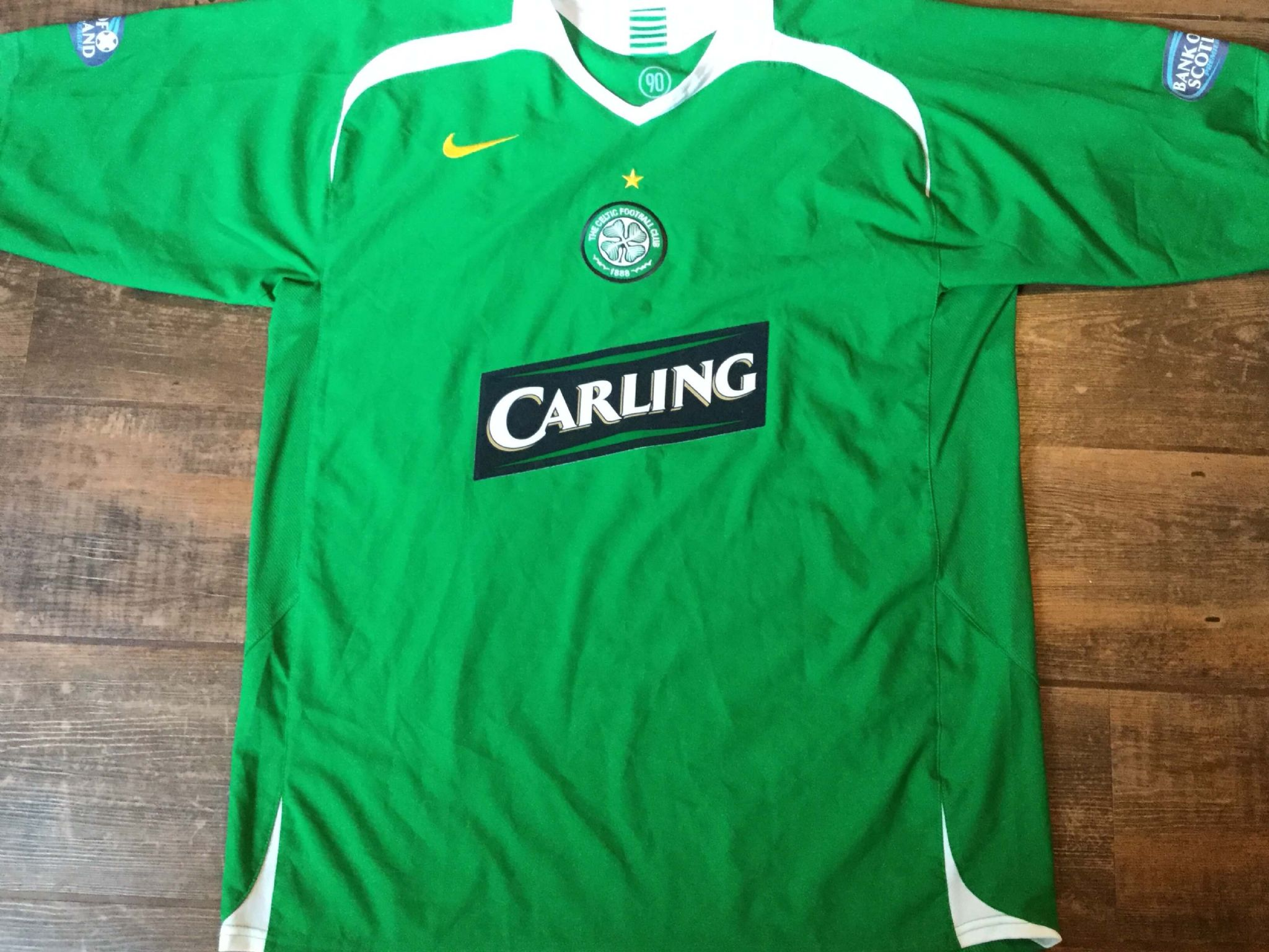 1562f493562 2005 2007 Glasgow Celtic BNWT New L s Home Classic Football Shirt Adults XL
